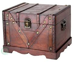 Furniture Box Amazoncom Vintiquewisetm Old Style Treasure Chest Box Set Of
