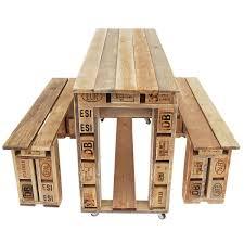 ᐅ Garnitur Aus Europaletten Tisch Bank Palettenmöbel Shop