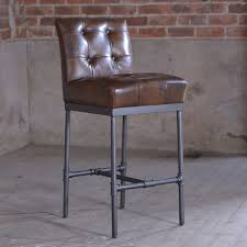 jn rusticus nungan vintage leather bar stool furniture