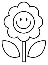 Disegni Di Primavera Da Colorare E Stampare Fiori Per Bambini