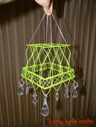 pottery barn inspired chandelier from bethy belle crafts positively splendid crafts sewing recipes and home decor