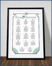 Wedding Alphabetical Seating Chart