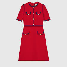 gucci outfits. wool silk dress with web gucci outfits
