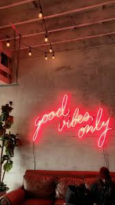 Good Vibes Light Up Sign Pin On Cool Wp