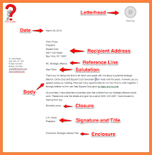 Example Business Letterhead How To Write A Business Letter For A Company With Example
