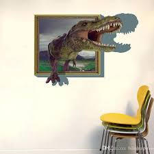 3d wall decals wall stickers for kids rooms boys dinosaur decals for baby room decor decorative