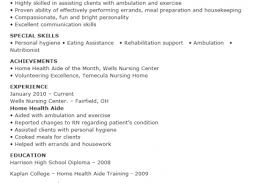 example sample resume home health aide resume ixiplay free
