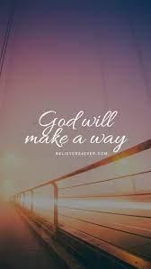 Best 55+ God Will Make a Way Wallpaper ...