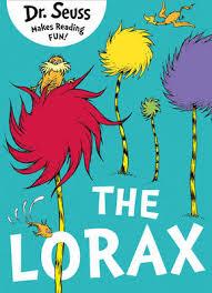 the lorax dr seuss paperback