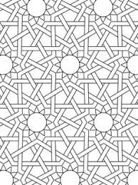 37 Best Islamic Colouring Pages Images Arabic Pattern Geometric