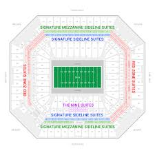 Miami Dolphins Hard Rock Stadium Seating Chart Miami Dolphins Suite Rentals Hard Rock Stadium