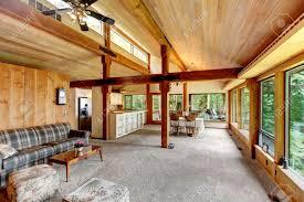 Chambeau  Log Homes Cabins And Log Home Floor Plans  Wisconsin Open Log Home Floor Plans