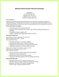 Medical Practice Administrator Resume Examples Administrative