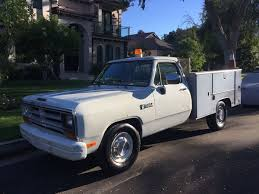 1989 Dodge Ram utility pickup truck with Liftgate for Sale in Los ...