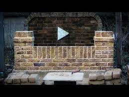 how to build a brick garden wall you
