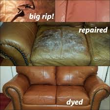 How To Repair A Tear In Leather Sofa