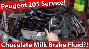 How To: Peugeot 205 Full Service (Oil, Oil filter, Air filter, Valve ...