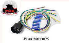 hiniker snow plow hiniker snowplow plow side 10 pin plug wire leads 38813075