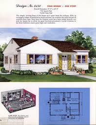 Tiny House Design Software Classic House Plans From 1955 50s Suburban Home Designs At