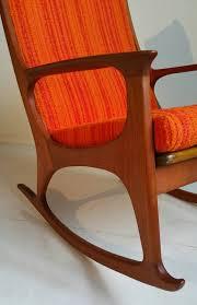 Rocking Chair Modern midcentury danish modern teak rocking chair at 1stdibs 3971 by uwakikaiketsu.us