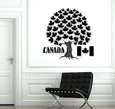 wall vinyl decal canada symbol marple