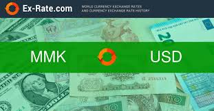 How Much Is 10000 Kyats K Mmk To Usd According To The