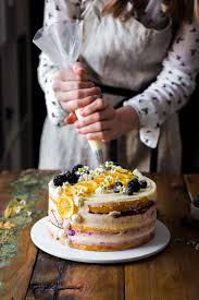 Lemon Blueberry Cake Also The Crumbs Please