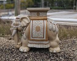 vintage vietnamese elephant garden