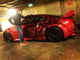 nissan 350z modified red. galerikereta nissan 350z veilside bodykit1 modified red