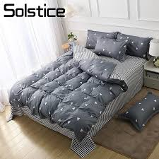 solstice home textile 3 4pcs bedding suit duvet cover flat sheet pillowcase kid teen simple bed