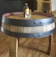 build a wine barrel table