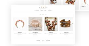 verel is a fully responsive and editable handmade jewelry wordpress theme created for handmade jewelry s this creative jewelry theme has cherry
