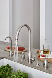Rosolina kitchen faucet and accessories.