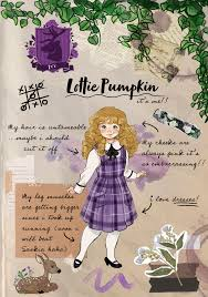 Lottie's scrapbook | Ivy page 2 | Rosewood Chronicles
