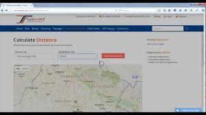 Trip Planner Calculator How To Use Distance Calculator Route Planner Tool At Trucksuvidha