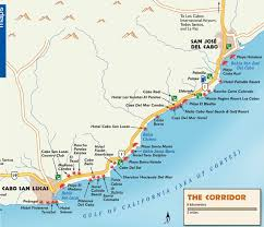 los cabos tourist map