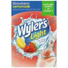 Wyler S Light Strawberry Lemonade Ingredients Wylers Light Strawberry Lemonade