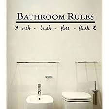 bathroom wall art decal sticker on toilet wall art stickers with bathroom wall art decal sticker amazon