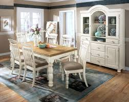 country style round dining table and chairs white room sets 8 great with furniture
