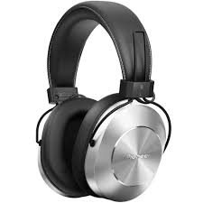 pioneer bluetooth headphones. pioneer se-ms7bt bluetooth headphones (silver) l