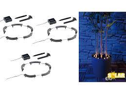 Blumen Beleuchtung: Lunartec Solar Rundum Licht F. Blumen, 15 LEDs,