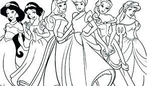 Free Printable Disney Princess Coloring Pages Belle Princess