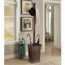 Wooden Coat Rack Umbrella Stand Briarwood Home Decor Wood Coat Rack with Umbrella Stand Free 93
