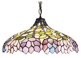 Tiffany Kitchen Lighting Attractive Tiffany Inverted Pendant Lights Pendant Lighting