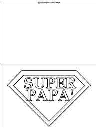 Festa Del Papà Biglietto Da Colorare Mamma E Bambini