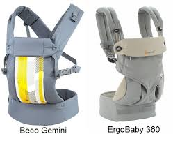 Ergo Baby Carrier Comparison Chart Ergobaby 360 Vs Beco Gemini Compare And Contrast