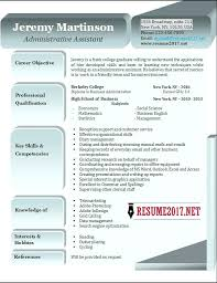 Resume Example For Administrative Assistant Great Administrative ...