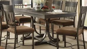 Acme Furniture Kipp Antique Black Rectangle Dining Table The