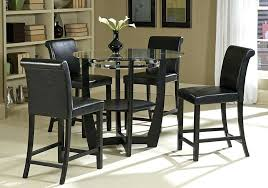 glass top pub table sets popular of tall bar table and stools with counter height pub glass top pub table sets