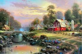 painted on canvas original reion reion subject landscape size type largest dimension 24x36 inches um oil region of origin asia